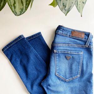 Guess Power Skinny Low Skinny Jeans Size 26